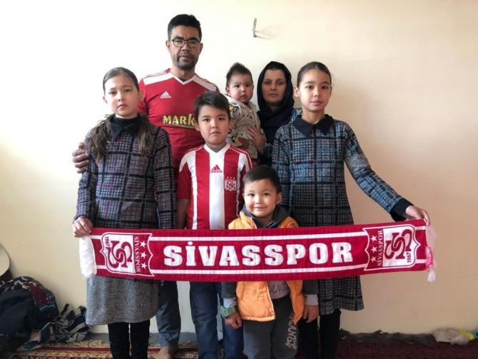 Afganistanlı Eyoub, Sivasspor-Fenerbahçe maçını izleyecek