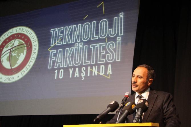 FÜ Teknoloji Fakültesi'nin 10'uncu yılı kutlandı