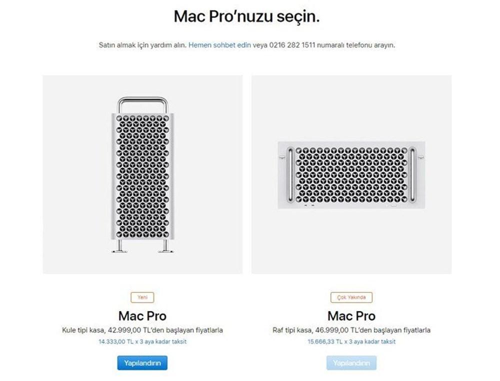 Apple Mac Pro fiyat belli oldu! İşte Apple Mac Pro özellikleri