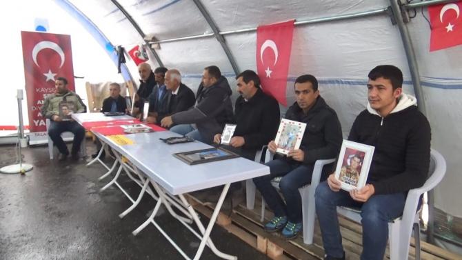 HDP önünde ailelerin evlat nöbeti 100'üncü günde