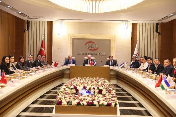 Özbekistan'dan Ankaralı yatırımcılara davet