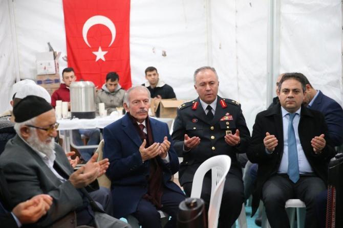 Başkan Aydıner'den Esma Çevik'in ailesine taziye ziyareti