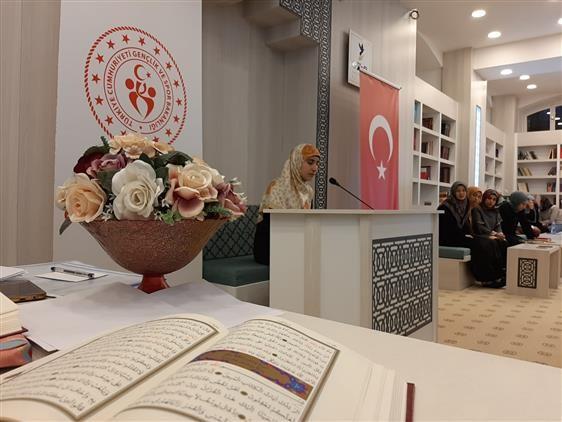 Erzincan'da Kur'an-ı Kerim'i Güzel Okuma Yarışması düzenlendi