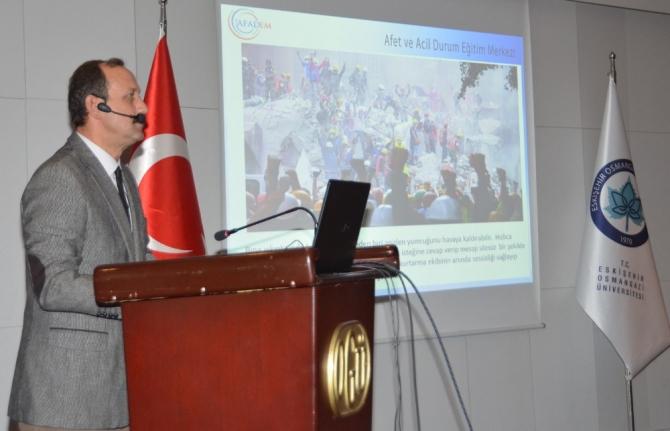ESOGÜ personeline yönelik 'Afet Bilinci Eğitimleri' devam ediyor