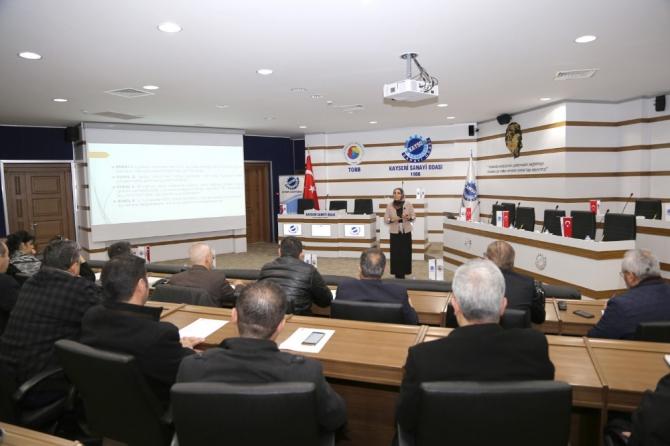 KAYSO Üyelerine İşçi İşveren Uyuşmazlıkları ve Hukuken Dikkat Edilmesi Gerekenler Anlatıldı