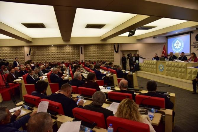 Manisa'da yılın son meclis toplantısı yapıldı