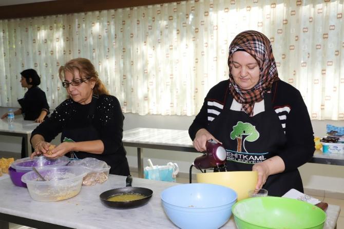 Lezzetli pastalar yapmanın yolu Şehitkamil'den geçiyor