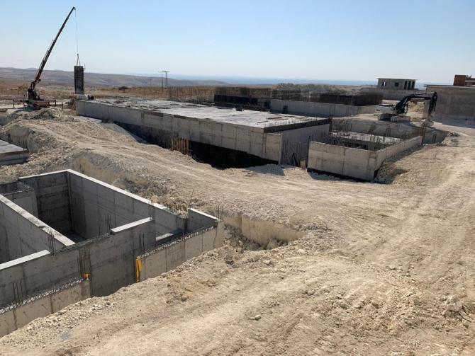 Şanlıurfa Birecik-Halfeti içme suyu tesislerinde çalışmalar sürüyor