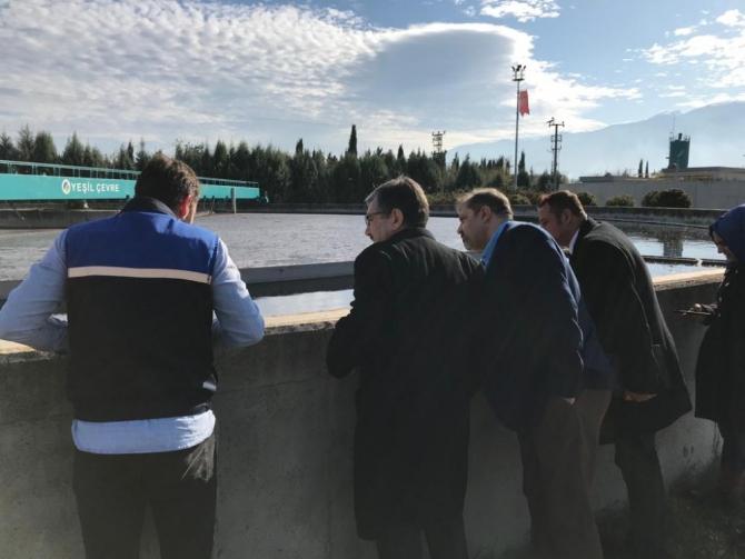 Bursa Çimento, Yeşil Çevre'yi ziyaret etti