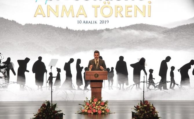 """YTB Başkanı Eren: """"Ahıska Sürgününü Unutmayacağız"""""""