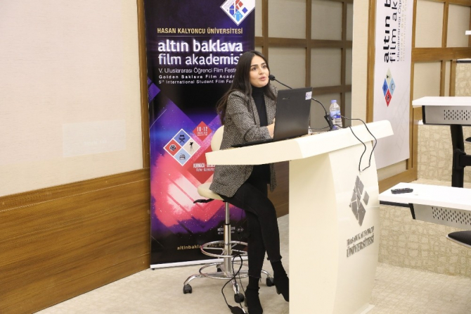 """""""5.Altın Baklava Film Festivali"""" ile HKÜ'de sinema şöleni"""