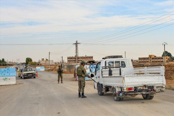 """MSB:"""" Tel Abyad ve Rasulayn'da toplam 41 yol kontrol noktası oluşturuldu"""""""