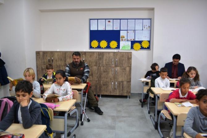 Sınıflarında İHA'yı konuk ettiler