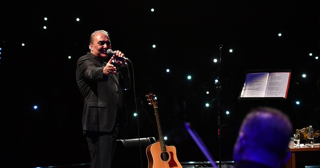 Aykut Kuşkaya şarkılarıyla Üsküdarlıların yüreklerine dokundu