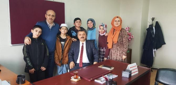 Ahmet Yesevi İmam Hatip Ortaokulu'ndan büyük başarı