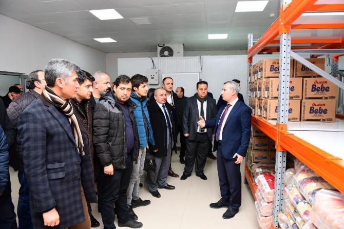 Başkan Çınar, sosyal projeleri tanıttı