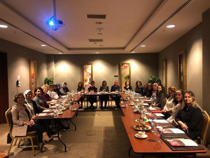 İzmit Belediyesi Kadın Kooperatifi ilk toplantısını yaptı
