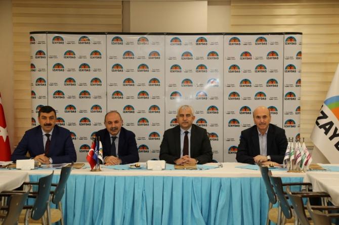 İZAYDAŞ yönetim kurulu toplandı