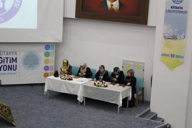 Kütahya'da Genç Nida Kur'an-ı Kerim'i Güzel Okuma ve Hafızlık Yarışması