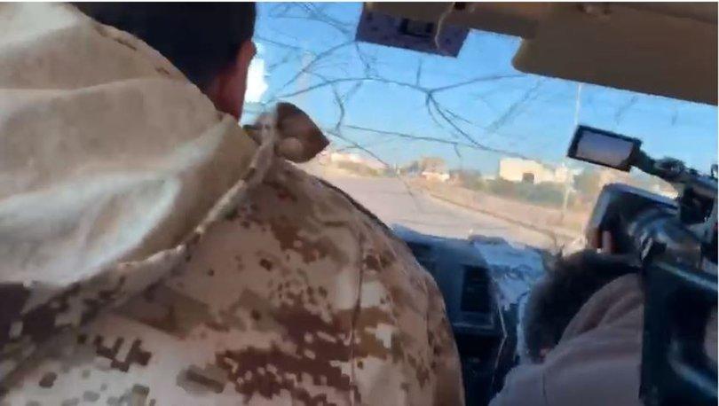 Libya'da Habertürk ekibine füze atıldı! İşte korku dolu o anlar...