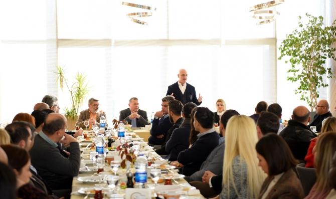 Antalya OSB'de Dış Ticaret Platformu kuruldu