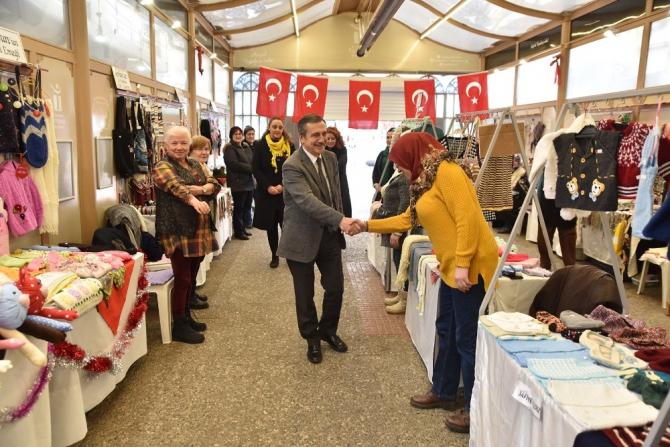 Başkan Ataç'tan Hanımeli Sokak ziyareti