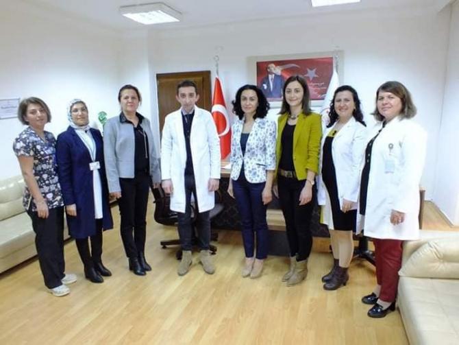 """Burdur Devlet Hastanesi """"Bebek Dostu"""" Unvanı Aldı"""