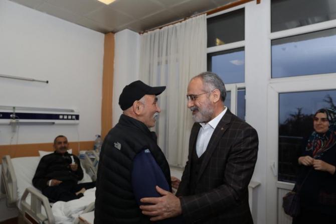 Cumhurbaşkanı Başdanışmanı Topçu'dan eski dava arkadaşına ziyaret