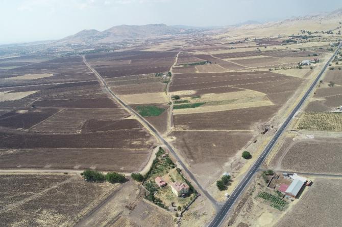 Diyarbakır'da 40 bin 550 dekar alan toplulaştırıldı