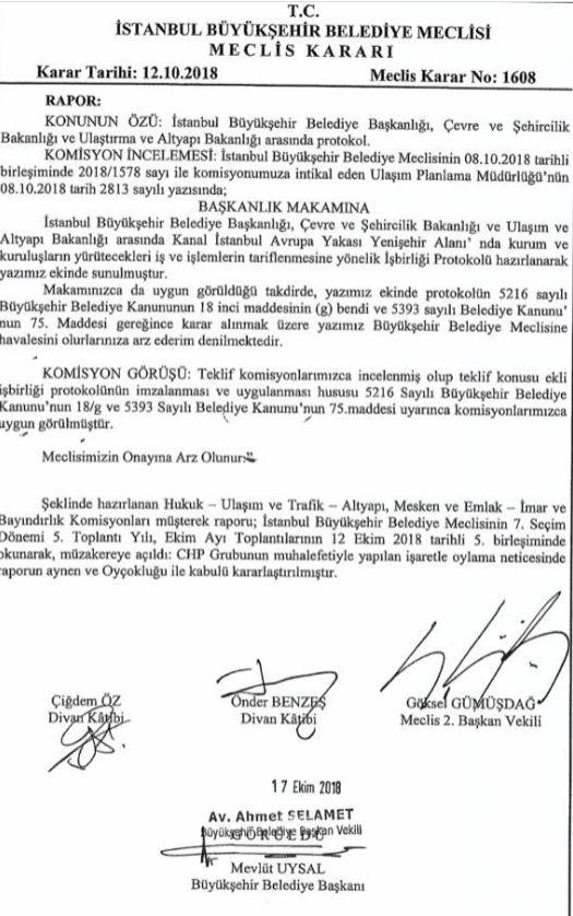 İmamoğlu'nun Kanal İstanbul'a ilişkin o iddiası çürüdü!
