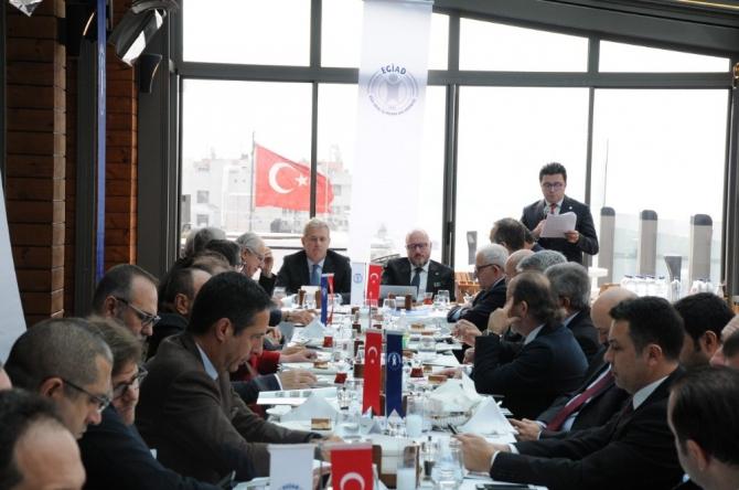 EGİAD Danışma Kurulunda stratejik plan masaya yatırıldı