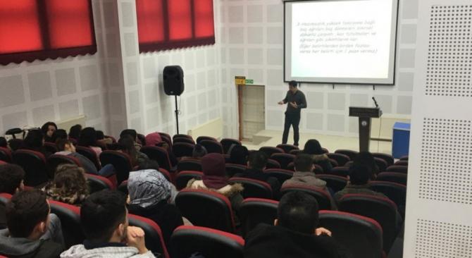 Emet MYO'da Kişisel Gelişim Eğitim Programları