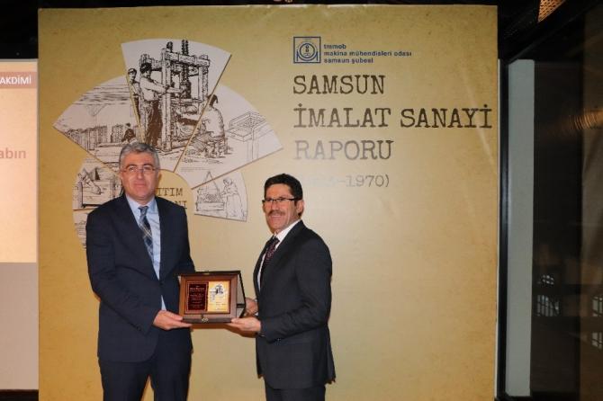 Samsun'un sanayi tarihine ışık tutacak kitap
