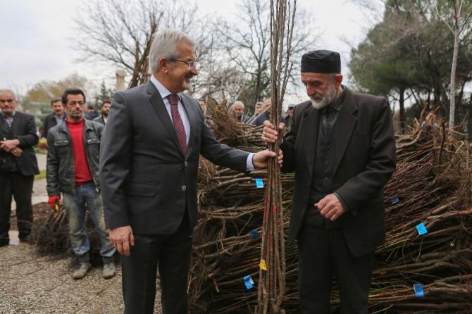 Nilüfer Belediyesi'nden çiftçiye destek