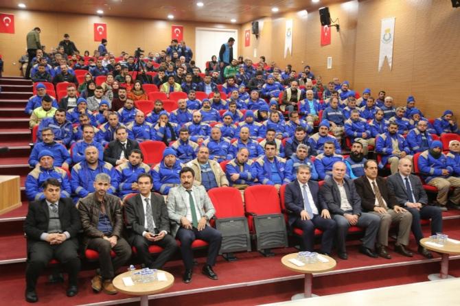 Haliliye Belediyesi personellerine eğitim semineri verdi