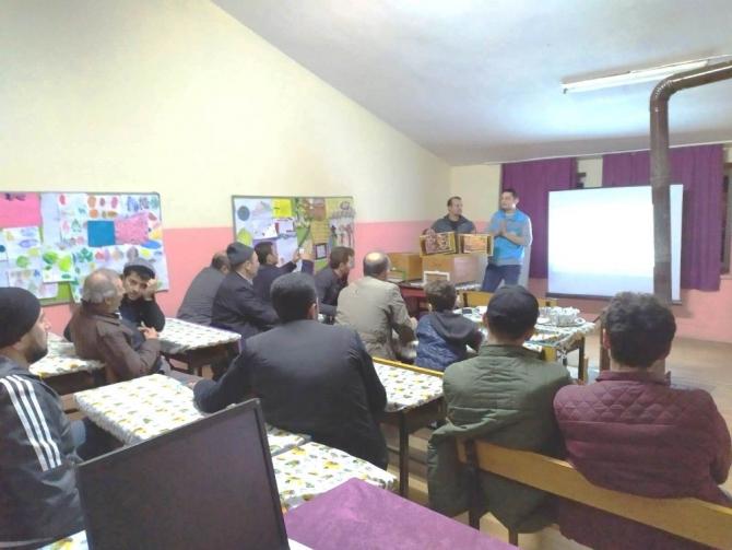 Hisarcık'ta 'Arı Yetiştiriciliği Kursu' açıldı