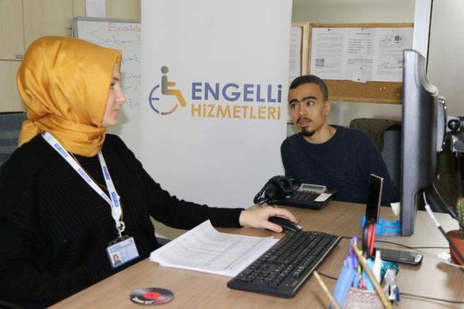 Büyükşehir'den engelli bireylere E-KPSS tercih danışmanlığı hizmeti