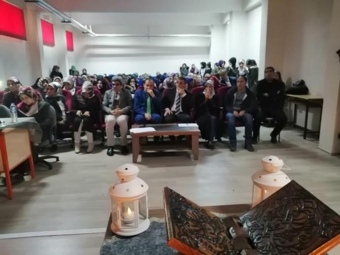 Kur'an-ı Kerim'i güzel okuma ve hafızlık yarışması düzenlendi