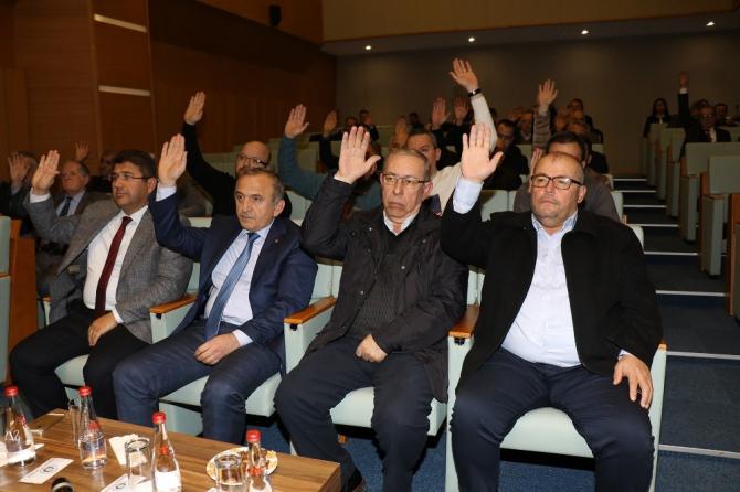 Manisa TSO aralık ayı meclis toplantısı yapıldı