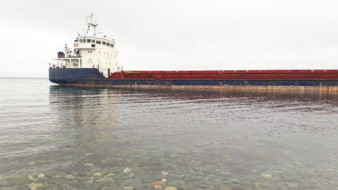 Marmara Denizi'nde Rus gemisi karaya oturdu