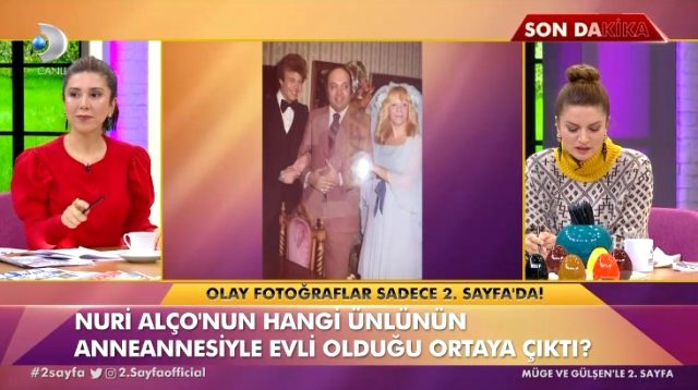 Fulden Uras'tan yıllar sonra gelen itiraf! Nuri Alço anneannemle evliydi