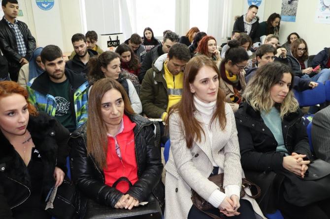 Erasmuslu öğrencilere çevre bilinci aşılandı