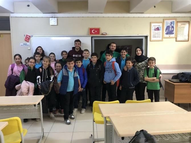 SAÜ'de ilköğretim öğrencilerine Enerji ve Enerji Tasarrufu anlatıldı