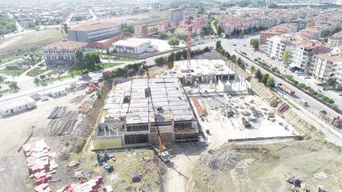 Ankara'nın en büyük Kültür ve Kongre Merkezi'nin yüzde 20'si tamamlandı
