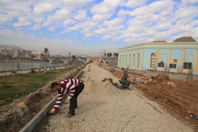 Cizre Belediyesi'nden üstyapı çalışmaları