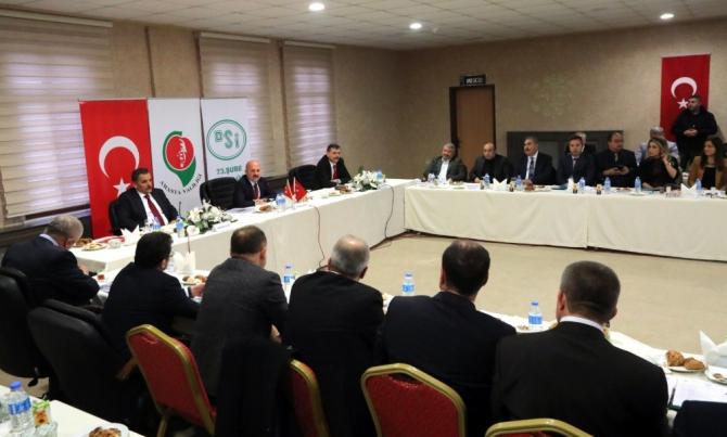 Yeşilırmak Havzası Havza Yönetim Heyeti Toplantısı yapıldı