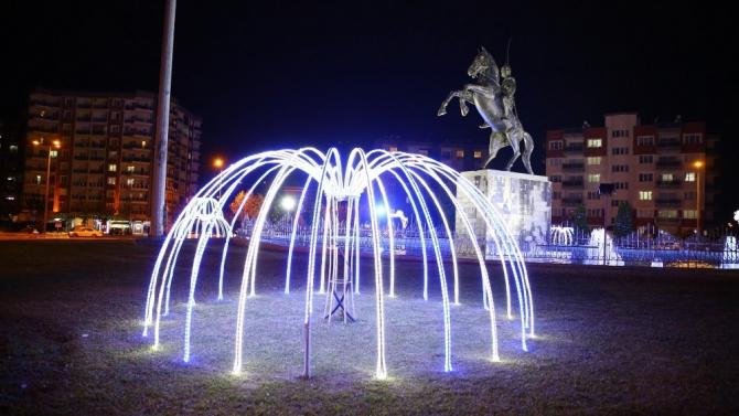 Aydın, Büyükşehirle yeni yıla ışıl ışıl giriyor