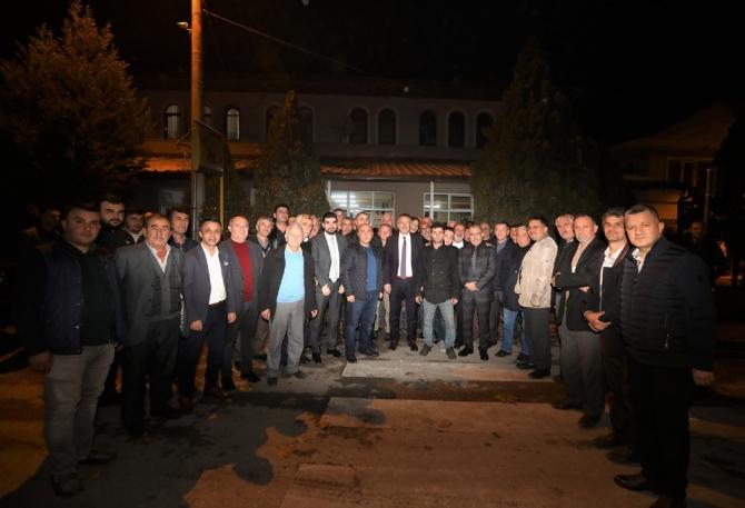 Başkan Işıksu, Budaklar'da mahalle sakinleri ile buluştu