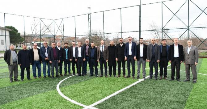 AK Parti İl Genel Meclis üyeleri Ezine'de buluştu