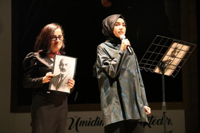Amasya Üniversitesi Mehmet Akif Ersoy'u andı